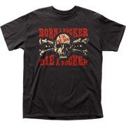 Uk Subs English Punk Rock Band Music Group Die A Rocker Adult T-Shirt Tee