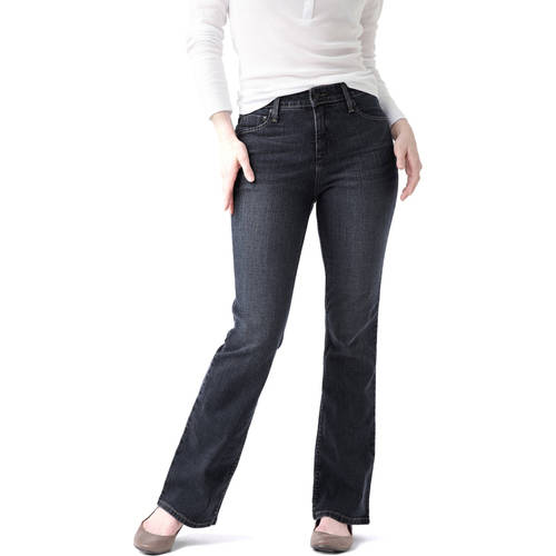 Signature by Levi Strauss & Co. Women's Totally Slimming At-Waist Bootcut Jeans