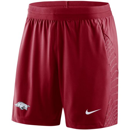 Arkansas Razorbacks Nike Player 2018 Sideline Flyknit Performance Shorts - (Mens Nike Air Max Modern Flyknit Running Shoes)