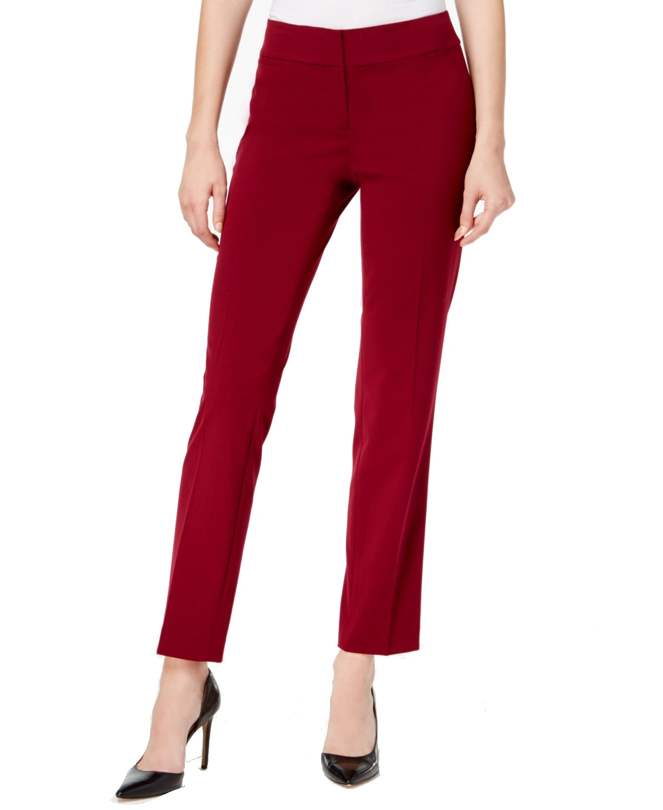 Nine West Women's Straight Leg Trouser Dress Pants