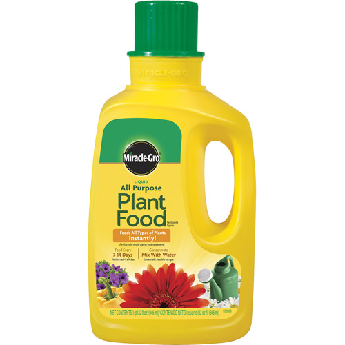 Miracle-Gro Liquid All Purpose Plant Food, 32 oz