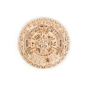 Wood Trick Mayan Calendar Wooden Mechanical Model - 3D Wooden Puzzle, Brain Games, Brain Teasers for Adults and Kids