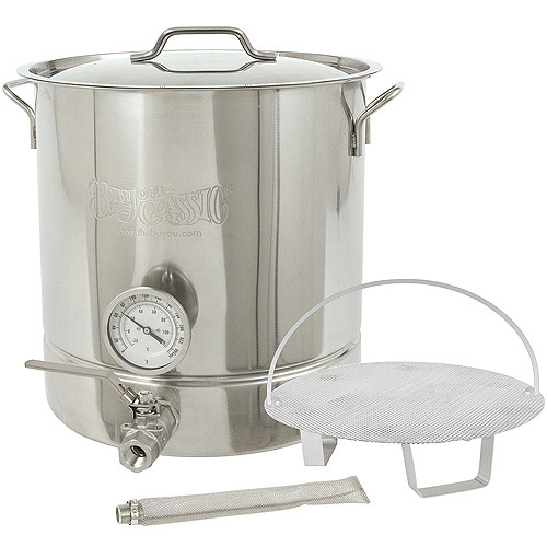 Barbour International Bayou Classic 6-Piece Home Brew Kettle Kit