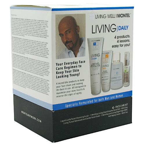 Cinsay Living Daily Face Care Kit: Liquid Loofa-Bamboo Facial Cleansing, Enzyme Facial Peel, Advanced & Gentle Facial To