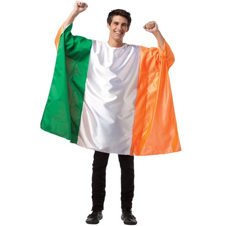 Ireland Flag Tunic Men's Adult Halloween Costume, One Size, (40-46)