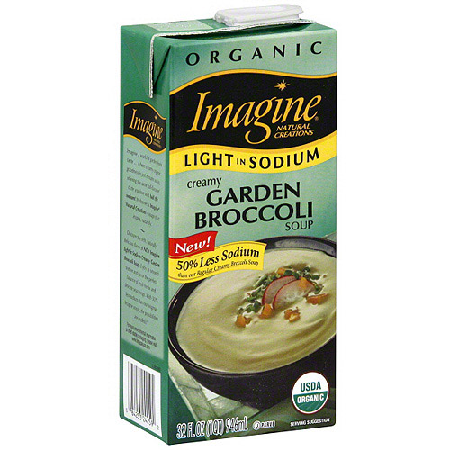Imagine Foods Broccoli Soup, 32 oz (Pack of 12)
