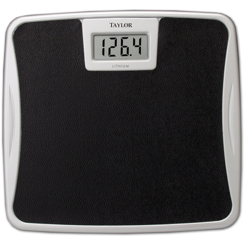 Batteries for bathroom scales - Taylor No Slip Digital Lithium Bath Scale Model 7329b