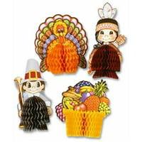 Thanksgiving Mini Centerpieces, Set of 4