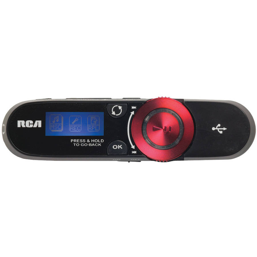RCA TH2014 4GB MP3 Player with USB