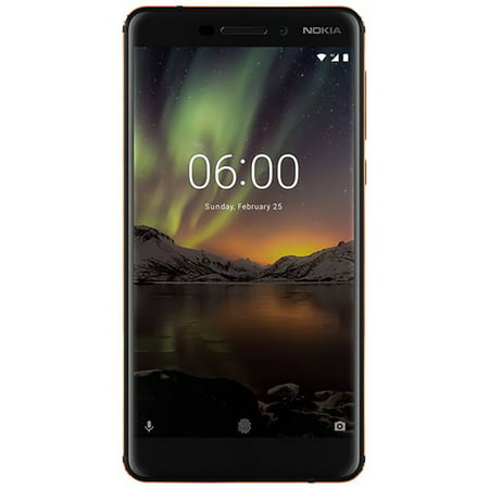 Nokia 6 1 32GB Unlocked Smartphone, Black
