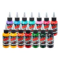 """Millennium Mom's Tattoo Ink 14 Color Portrait Set 1/2 oz Bottles"""