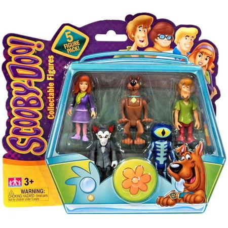 Skeleton Figure (Daphne, Scooby, Shaggy, Dracula & Skeleton Action Figure)