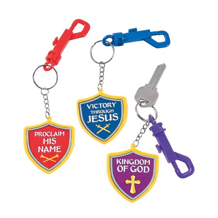 IN-13766727 Kingdom VBS Backpack Clip Keychains