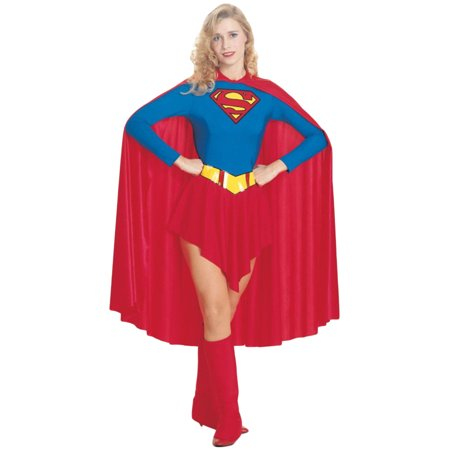 Morris Costumes Womens Superheroes & Villains Supergirl Red Blue S, Style RU15553SM - Girl Villians