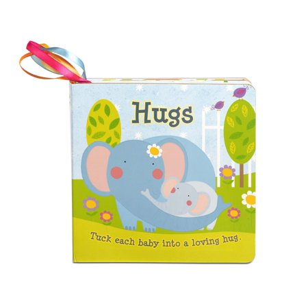 Melissa & Doug Children's Book - Hugs (Board Book with 5 Play Tags to Tuck into Pockets, Great Gift for Girls and Boys - Best for Babies and Toddlers, 12 Month Olds, 1 and 2 Year
