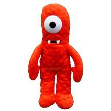 Plush Backpack - Yo Gabba Gabba - Muno Soft Doll New 036021