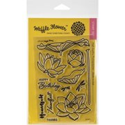 """Waffle Flower Crafts Clear Stamps, 2"""" x 3"""""""