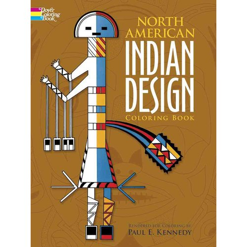 North American Indian Design Coloring Book