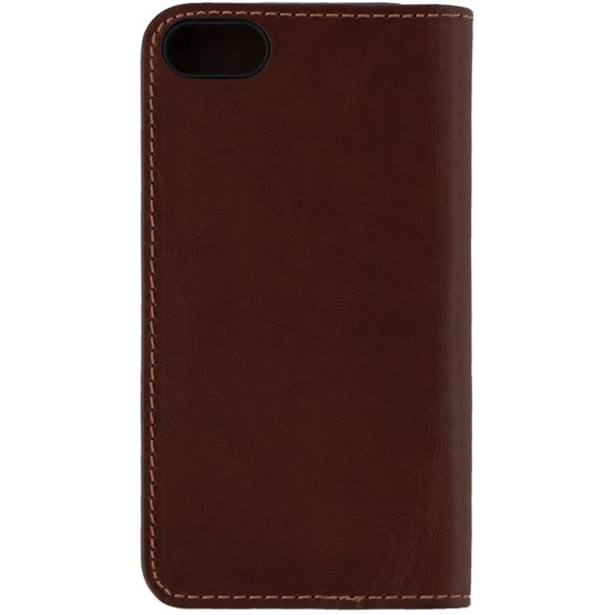 on sale a01f9 a40e9 Platinum Leather Folio Wallet Case for Apple iPhone 8 & 7 - Bourbon Brown  (Refurbished)
