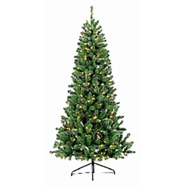 Puleo Asia 239044 7 ft. Pre-Lit PVC Color Change Tree - image 1 of 1
