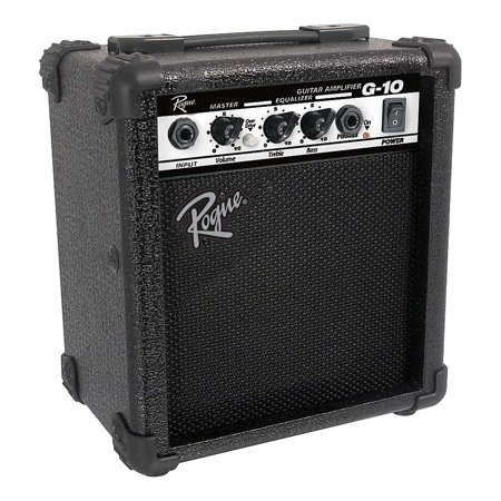 Rogue G10 10W 1x5 Guitar Combo Amp Black (Best Rated Guitar Amps)