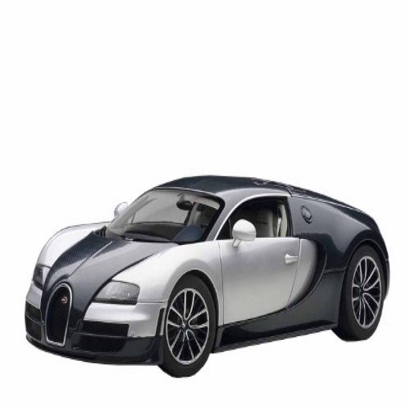 Blue Bugatti Veyron Super Sport: AUTOart 1/18 Bugatti Veyron Super Sports (Dark Blue