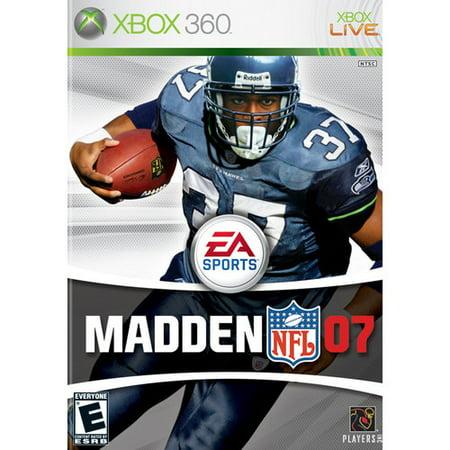 Madden NFL 07 Xbox 360  Walmart.com