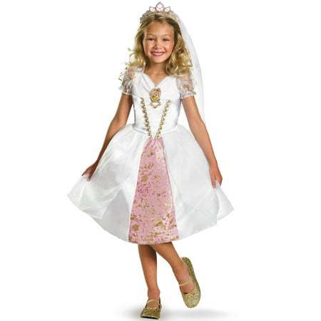 Disney Princess Rapunzel Wedding Gown Child Halloween Costume (Halloween Costume Rapunzel)