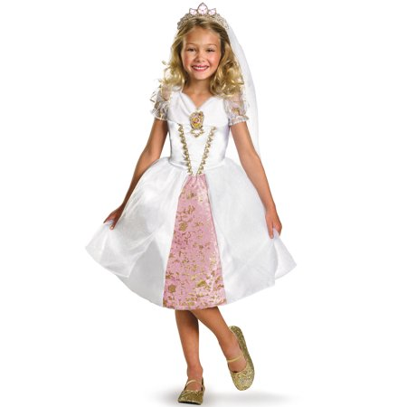 Disney Princess Rapunzel Wedding Gown Child Halloween Costume
