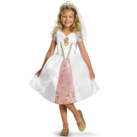 Disney Princess Rapunzel Wedding Gown Child Halloween Costume](Rapunzel Child Costume)