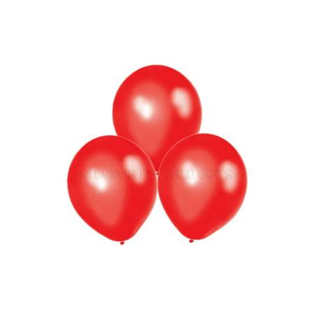 "25 pcs 12"" Metallic Red Balloons Latex Birthday Decorations Party celebrations"