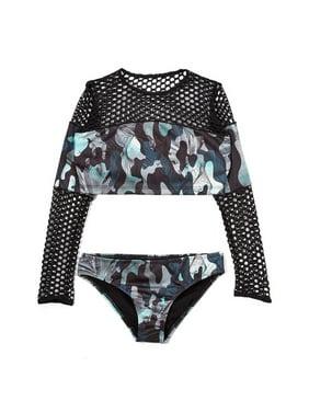Little Girls Two Piece Swimsuits Walmartcom