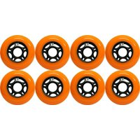 Product Image OUTDOOR Inline Skate Wheels ASPHALT Formula 80MM 89a ORANGE X8 Wheel