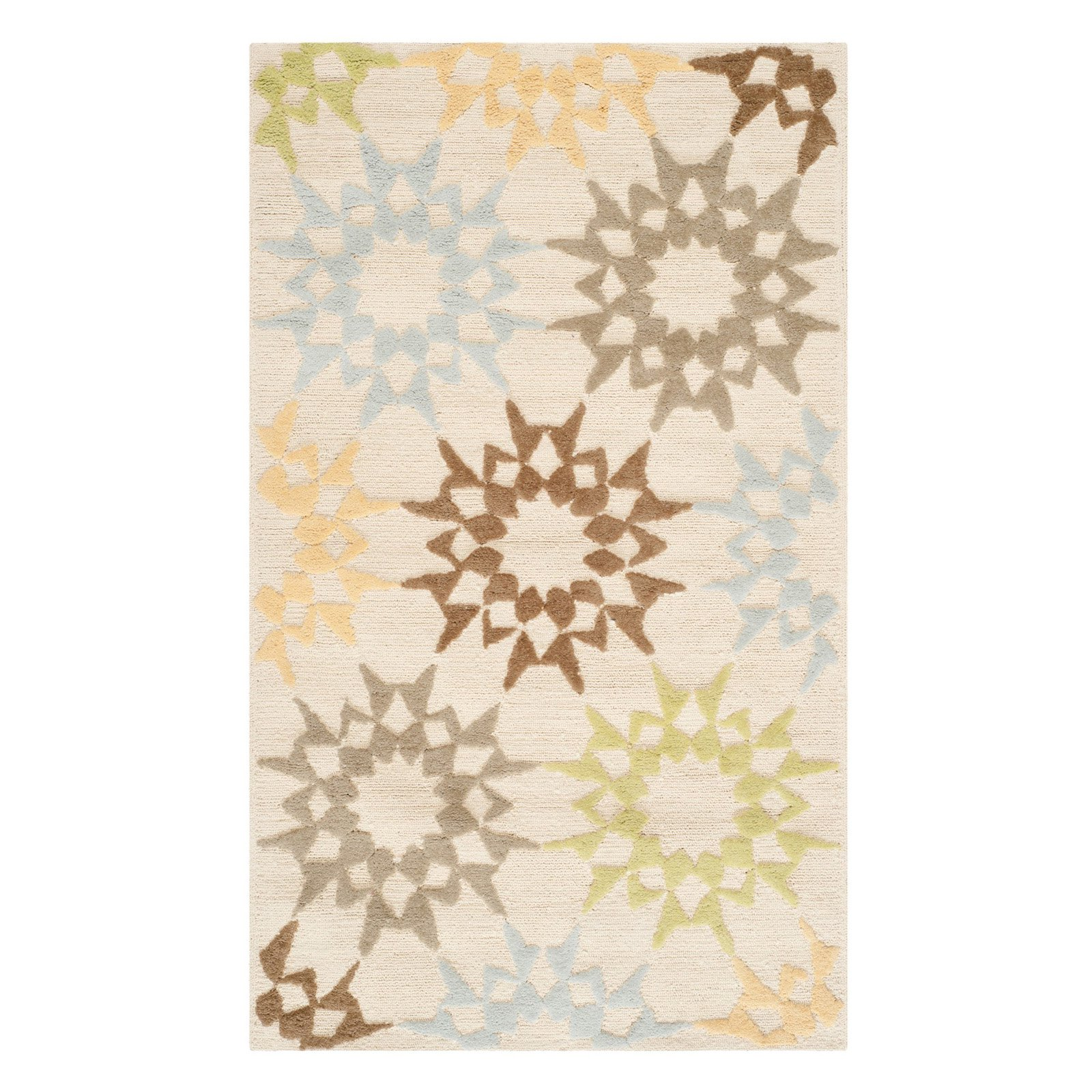 Safavieh Martha Stewart Quilt Pebble Geometric Area Rug by Safavieh