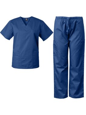 Medgear Scrubs for Men and Women Scrubs Set Medical Uniform Scrubs Top and Pants
