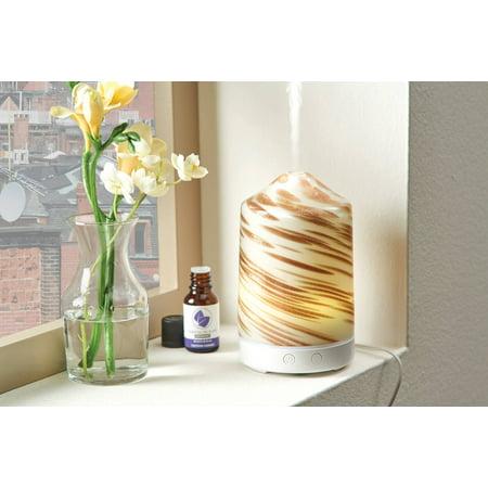 Better Homes & Gardens 100 mL Gold Swirl Cool Mist Ultrasonic Aroma Diffuser