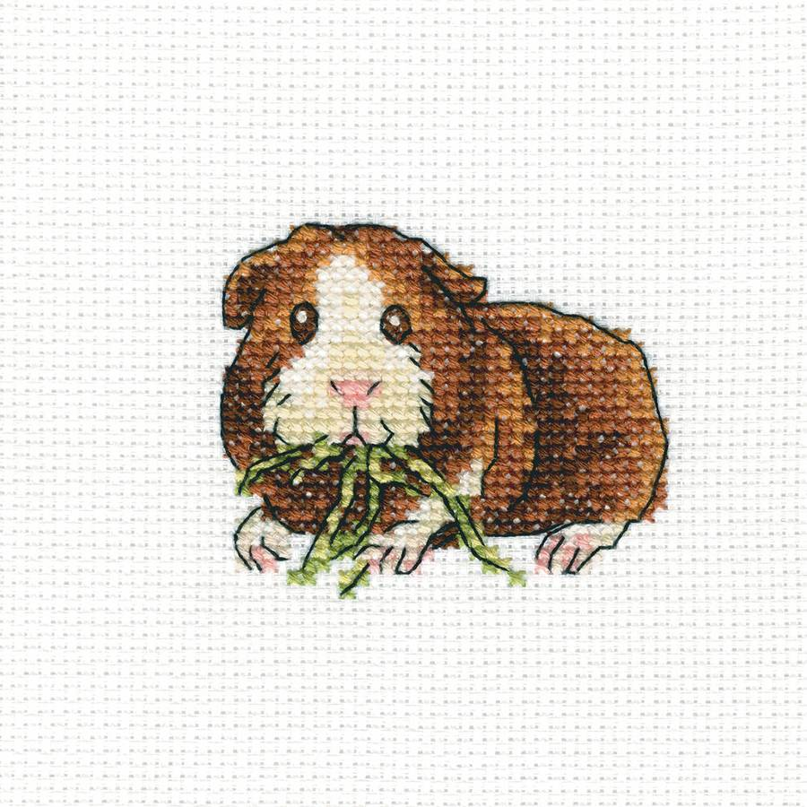 "Larky Lucky Counted Cross Stitch Kit, 4"" x 4"", 14-Count"