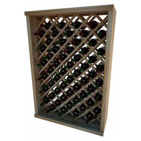 Wci Vintner Series Individual Diamond Bin Wine Rack Premium Redwood