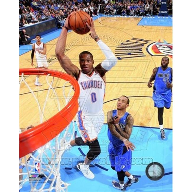 Photofile PFSAAQK05201 Russell Westbrook 2013-14 Action Sports Photo - 8 x 10 - image 1 of 1