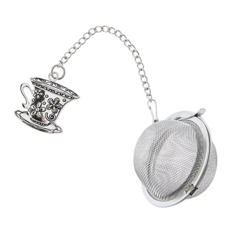 Charming Tea Infuser: Tea Cup With Saucer - By Ganz