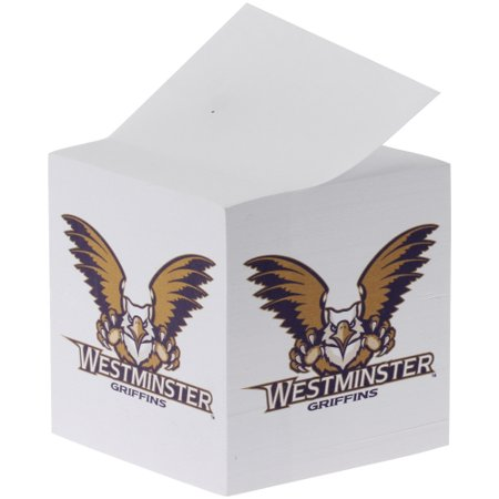 Westminster Griffins Paper Note Cube - No - Note Paper Cube
