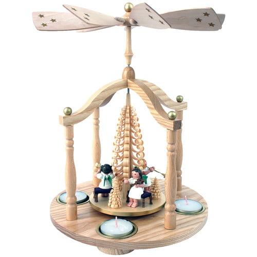 Richard Glaesser Tiny Angel Musicians Rotating Pyramid