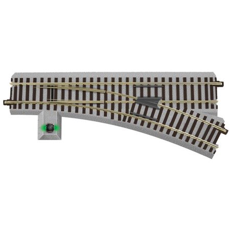 AF 6-47940 S Gauge FasTrack Right Hand R-20 Command Control Turnout Track Switch