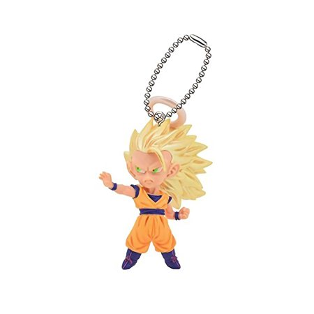 - Dragon Ball Z Kai UDM The Best 12 Super Saiyan 3 Goku Halo Ver. Figure Keychain