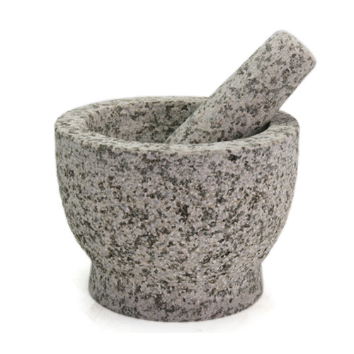 "Creative Home 32670 Granite Mortar and Pestle Set, 7.9"" by 4.75"", Gray"
