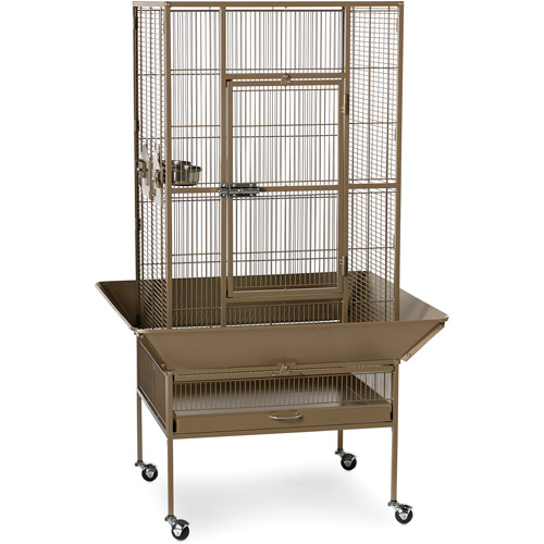 Prevue Pet Products Park Plaza Bird Cage, Coco Brown