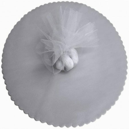 100 Scalloped Tulle Circles 9