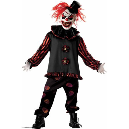 Carver the Clown Child Halloween Costume - Bad Clown Costume