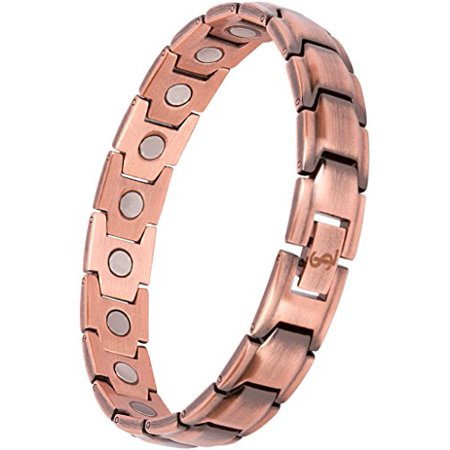 Bracelet Pain Relief for Arthritis and Carpal Tunnel Copper Magnetic Therapy