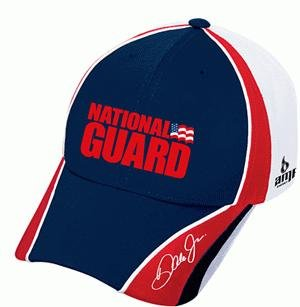 Dale Earnhardt Jr #88 National Guard Red & White Chase Authentics Pit Hat Cap
